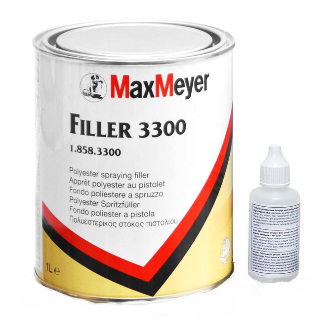 Max Meyer 3300 Plastomax Chit pistolabil + intalitor 1 litru 0