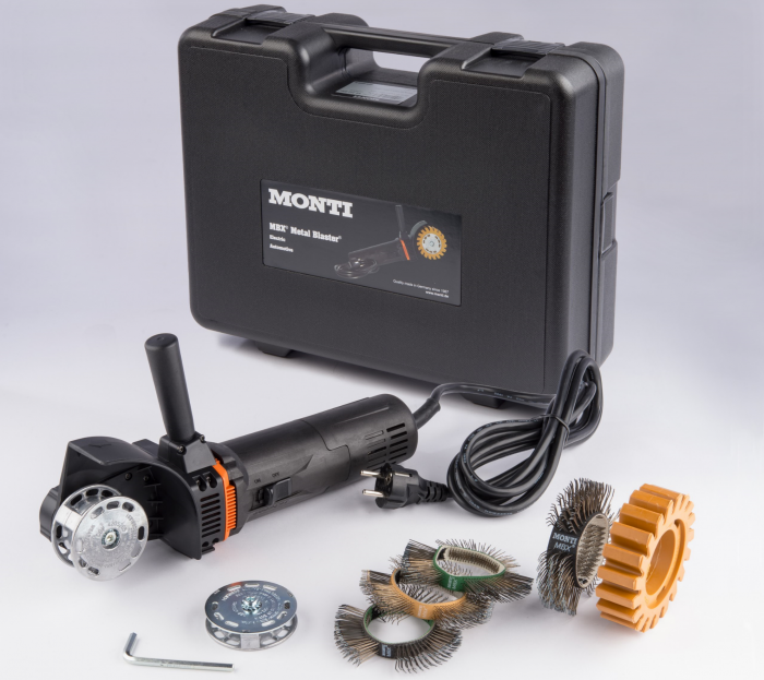 Scula electrica Monti MBX® Electric Set SE-206-BMC Standard Duty curatat si pregatit suprafete, putere 700 W, alimentare 230 V 1