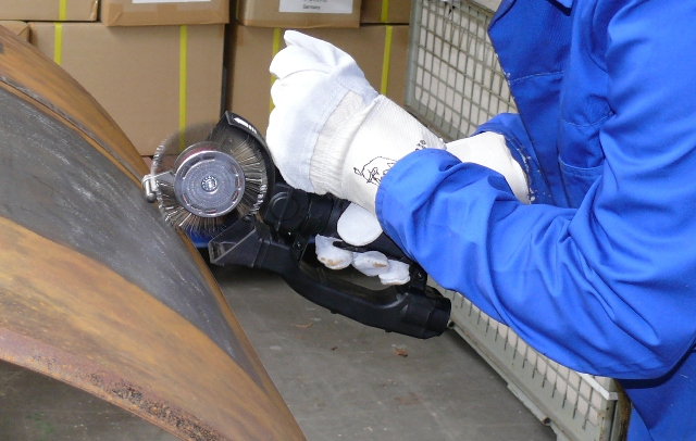 Curea carbon spring steel Monti BB-033-05 pentru scula electrica Monti Bristle Blaster® curatat si pregatit suprafete, pachet 5 bucati, 23 mm 2