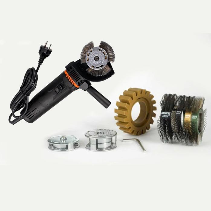 Scula electrica Monti MBX® Electric Set SE-206-BMC Standard Duty curatat si pregatit suprafete, putere 700 W, alimentare 230 V 0