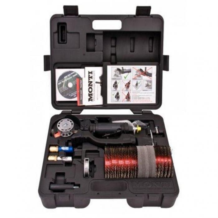 Scula pneumatica, Monti Die Blaster® SE-647-BMC, curatat si pregatit suprafete, 3500 rpm, cutie transport rezistenta inclusa 0