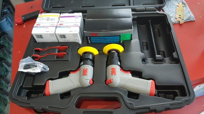 Set complet reconditionat faruri 3M™ de polisare faruri, PN50663 Ø 75 mm 4