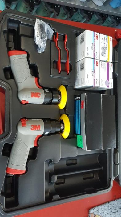 Set complet reconditionat faruri 3M™ de polisare faruri, PN50663 Ø 75 mm 3