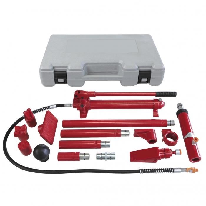 Set presa hidraulica 10T GYS  052338 si accesorii pentru tinichigerie 1