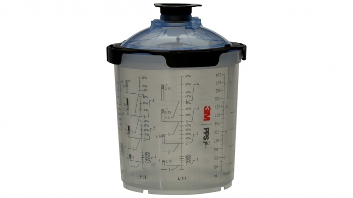 Sistem aplicat vopseaua 3M™ PPS™ Series 2.0 50 pungi 650 ml + 75 filtre 125 microni 1