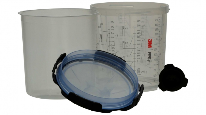 Sistem aplicat vopseaua 3M™ PPS™ Series 2.0 50 pungi 650 ml + 75 filtre 125 microni 2