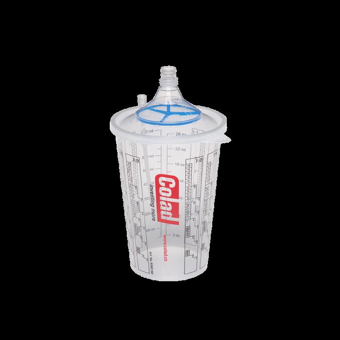 Sistem aplicat vopseaua Snap Lid System® Colad 50 pahare + 50 filtre 1