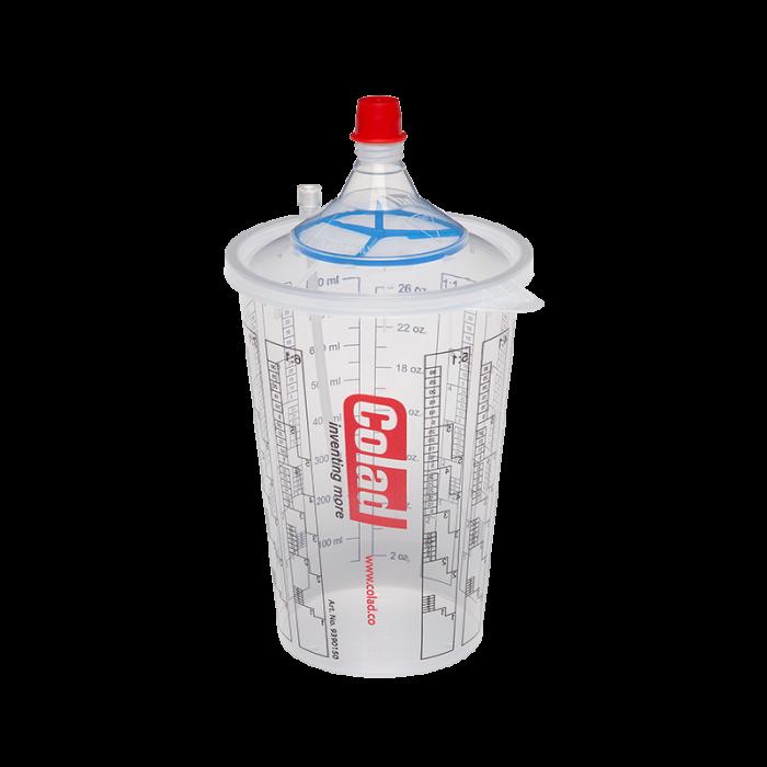 Sistem aplicat vopseaua Snap Lid System® Colad 50 pahare + 50 filtre 0