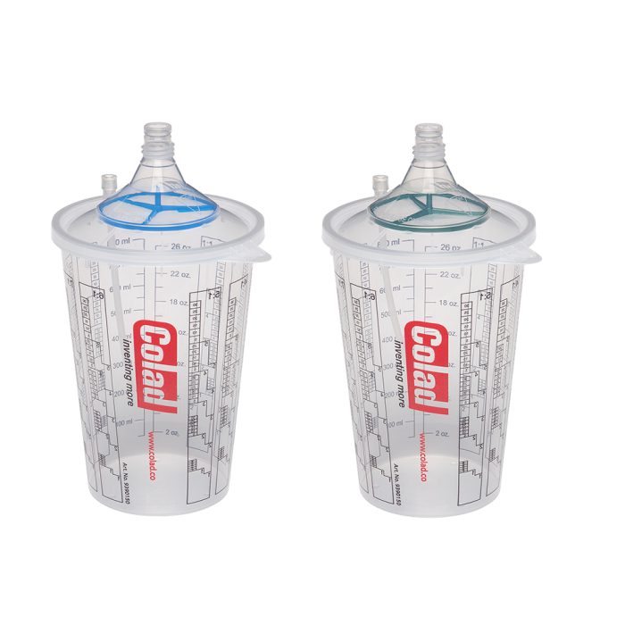 Sistem aplicat vopseaua Snap Lid System® Colad 50 pahare + 50 filtre 2