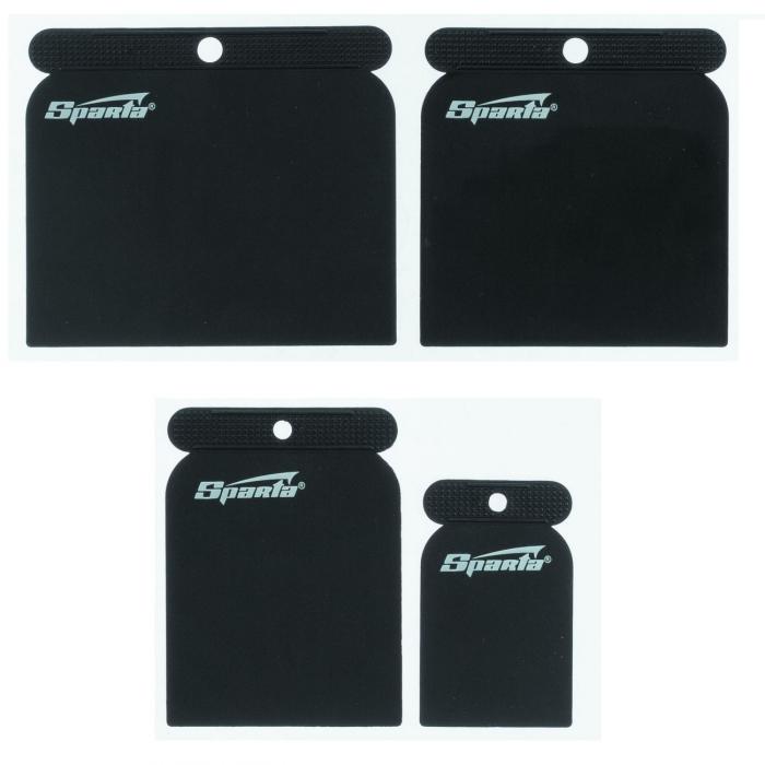 Spatule japoneze plastic, Sparta 860045, pentru chit diferite marimi (set 4 buc) [0]