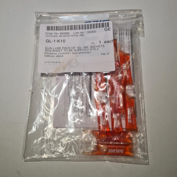 Vaselina DeVilbiss GL-1 pentru lubrifiere pistoale de vopsit, gramaj 10 gr. [3]