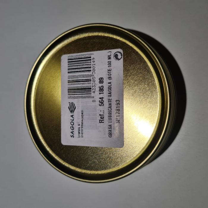 Vaselina, Sagola 53410039, pentru lubrifiere pistoale de vopsit, gramaj 100 ml [2]