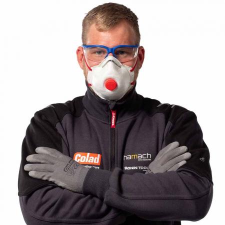 Masca particule Colad 5420 protectie respiratorie ridicata FFP2 cu supapa1