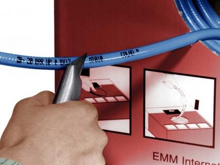 Furtun aer vopsitorie, Colad 9110, profesional, interior Ø 8 mm, culoare albastra1