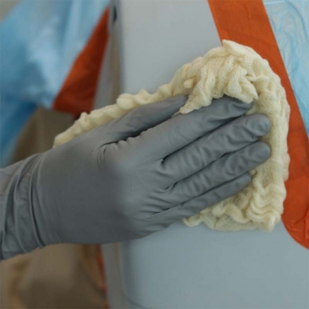Laveta cerata antistatica, SOLL 505009 staubfix Super, dimensiune 80 x 80 cm, material 100% bumbac [1]