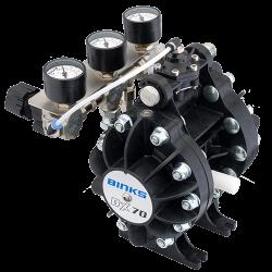 Binks DX70 1:1 ratio pompa cu diafragma0