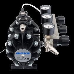 Binks DX70 1:1 ratio pompa cu diafragma6