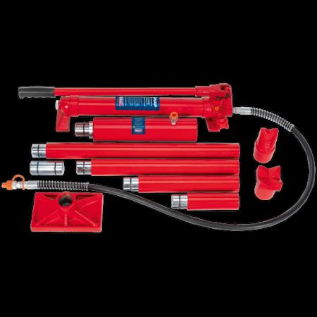 Set presa hidraulica 20T si accesorii pentru tinichigerie0