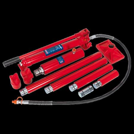 Set presa hidraulica 20T si accesorii pentru tinichigerie3