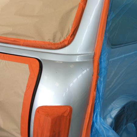 Banda mascare hartie Colad 9000xx Orange™ Masking Tape, rezista pana la 100 °C, culoare portocaliu, lungime 50 metri3
