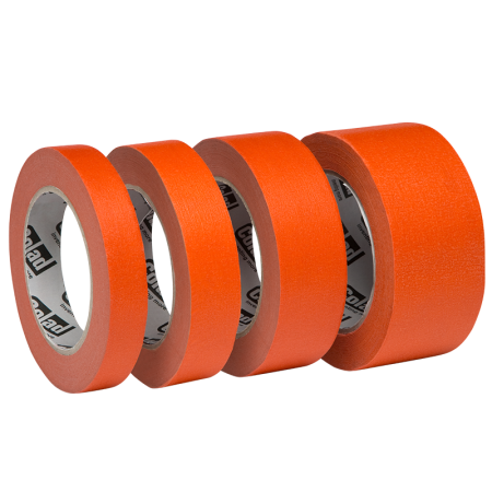 Banda mascare hartie Colad 9000xx Orange™ Masking Tape, rezista pana la 100 °C, culoare portocaliu, lungime 50 metri1