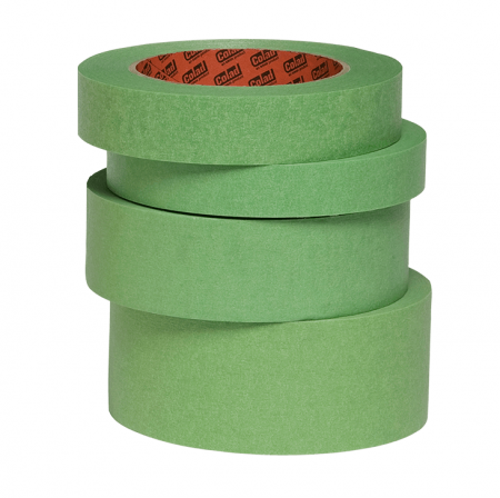 Banda mascare hartie Colad 9004xx Aqua Dynamic, rezista pana la 130 °C, culoare verde, lungime 50 metri0