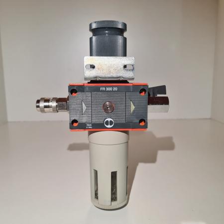 Baterie filtrare aer comprimat, MW D100, filtrare aer vopsitorie cu regulator, baterie 1 filtru, pana la 20 microni, debit 5600 l/min [3]