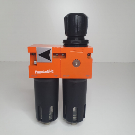 Baterie filtrare aer, DeVilbiss FLRC-1, filtrare aer cu regulator, baterie 2 filtre, pana la 0.01 microni [4]