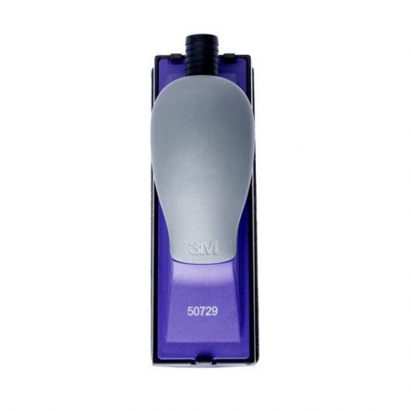 Bloc de slefuit manual 3M™ 50729 Hookit Purple+ cu aspirare 70mm x 198mm + 2 talpe convexa si concava1