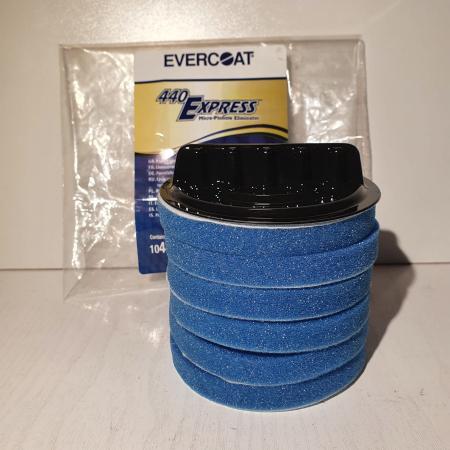 Burete cu suport pentru aplicat sealent, Evercoat® 104439, recomandat pentru aplicat chitul lichid 440 Express1