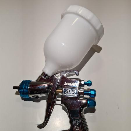 Cana pistol vopsit, DeVilbiss SLG-450, pentru pistol SLG-620, material plastic, capacitate 550 ml [8]