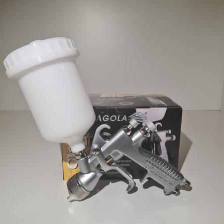 Cana pistol vopsit, Sagola 56418420, pentru pistol Sagola Classic Lux, material plastic, capacitate 650 ml [7]