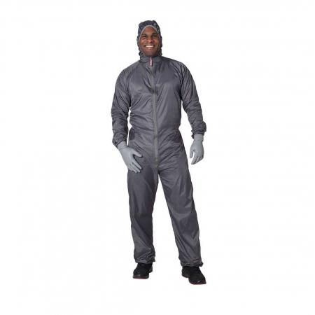 Combinezon protectie reutilizabil, Colad 5200xx BodyGuard® Premium comfort, culoare gri, cu gluga, material antistatic [0]