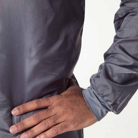 Combinezon protectie reutilizabil, Colad 5200xx BodyGuard® Premium comfort, culoare gri, cu gluga, material antistatic [3]