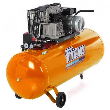 Compresor aer cu piston profesional, Fiac AB200/348MC, alimentare 220 V, aer aspirat 330 l/min, butelie 200 litri [0]