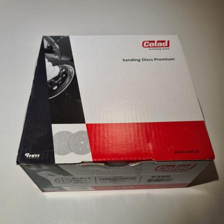 Disc abraziv slefuit, Colad 3680xx Premium, 15 gauri, duritate P40 - P1500, diametru Ø 150 mm [5]