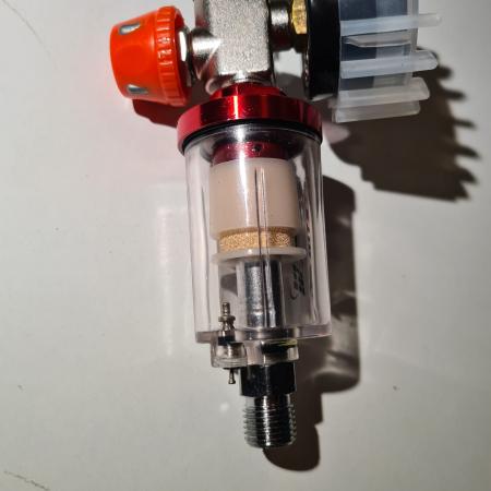 Filtru aer cu montare pe furtun, Matrix 570089, pentru condens si impuritati, filet conectare 1/4, purjare manuala [1]