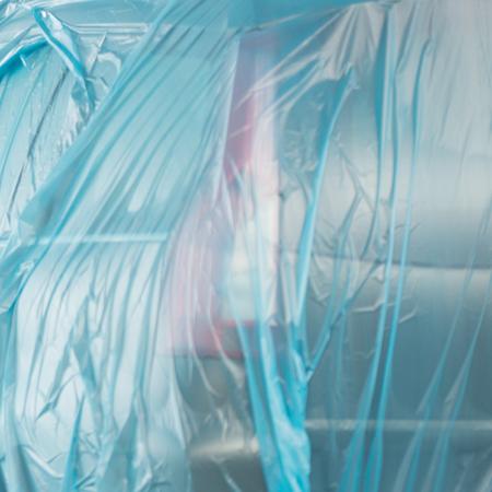 Folie mascare Colad 6375 albastra 4 m x 150 m3