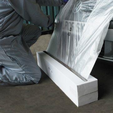 Folie mascare Maddox HDPE transparenta 4 m x 300 m0