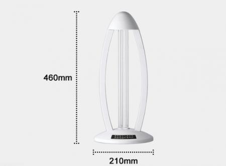 Lampa UV bactericida Aether oGuard Ozon, sterilizează și dezinfectează 99,9% de diferiți agenți patogeni bacterieni4
