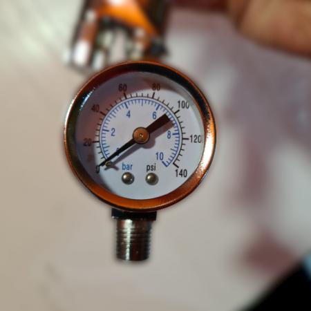 Regulator de presiune aer cu manometru mecanic, StarchemSPG-25, montare pe furtun, cupla 1/4, maxim 10 bar1