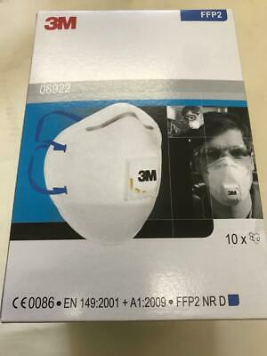 Masca protectie respiratorie 3M 6922, protectie ridicata FFP2, supapa 3M™ Cool Flow™, tip cupa2