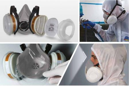 Masca protectie profesionala Norton 2016 cu filtru A2 P2 si 2 prefiltre [2]