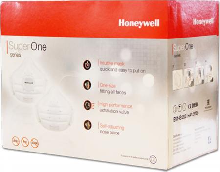 Mască protectie Honeywell Superone 3203 filtru FFP1 NR D, fără utilizare restrictivă, mărime universală2