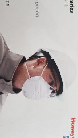 Mască protectie Honeywell Superone 3203 filtru FFP1 NR D, fără utilizare restrictivă, mărime universală3