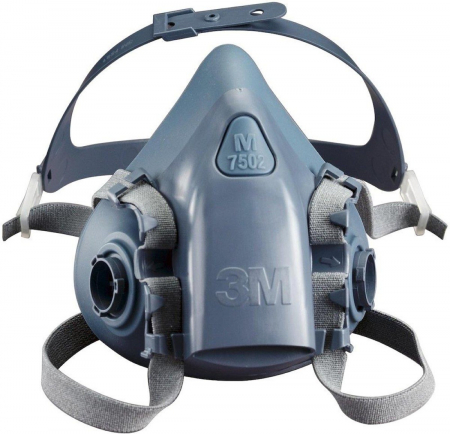 Masca protectie profesionala 3M™ 7502 Marime M, de protectie respiratorie, fara filtre (se comanda separat)4