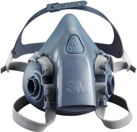 Masca protectie profesionala 3M™ 7503 Marime L, de protectie respiratorie, fara filtre (se comanda separat)4