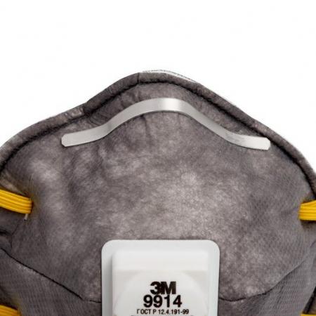 Masca particule 3M 06922 protectie FFP2 respiratorie ridicata cu supapa tip cupa [1]