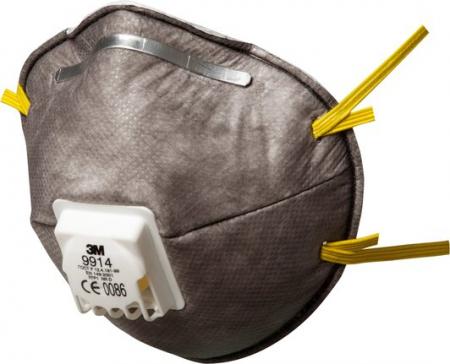 Masca particule 3M 06922 protectie FFP2 respiratorie ridicata cu supapa tip cupa [0]
