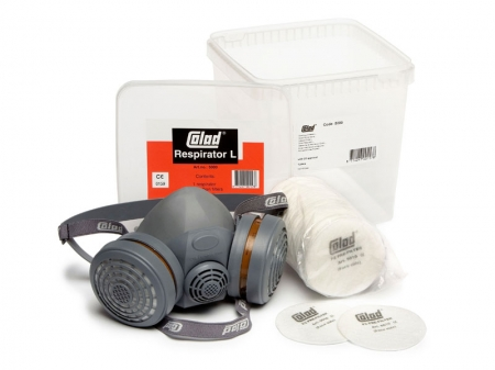 Masca pentru vopsit, Colad 5000, cu filtru de carbon A1P2 si 2 prefiltre + 50 pre-filtre cadou [0]